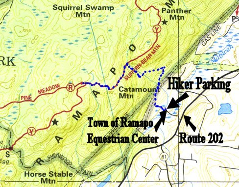Harriman State Park Trail Map